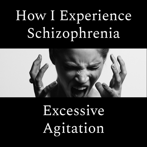 How i experience schizophrenia excessive agitation